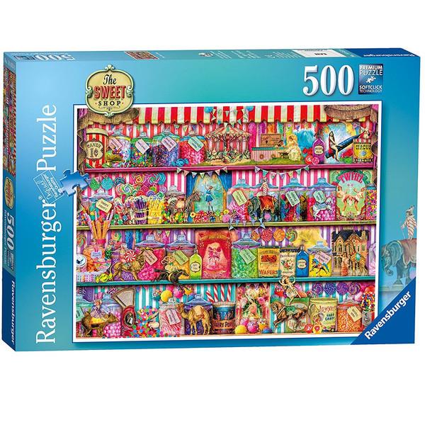 پازل 500 تکه راونزبرگر مدل The Sweet Shop