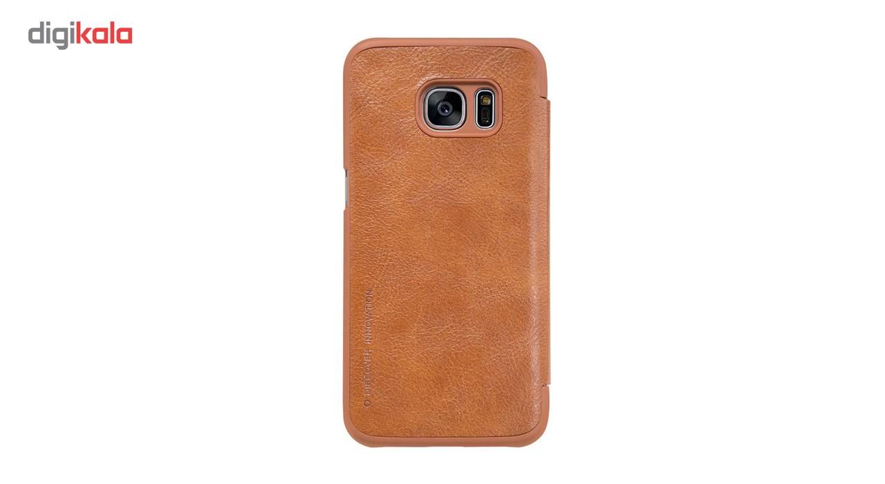کیف کلاسوری نیلکین مدل Qin مناسب برای گوشی موبایل سامسونگ گلکسی S7 main 1 2