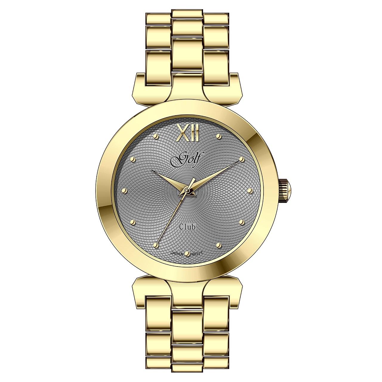 ساعت مچی عقربه ای زنانه گلف مدل L0112-3