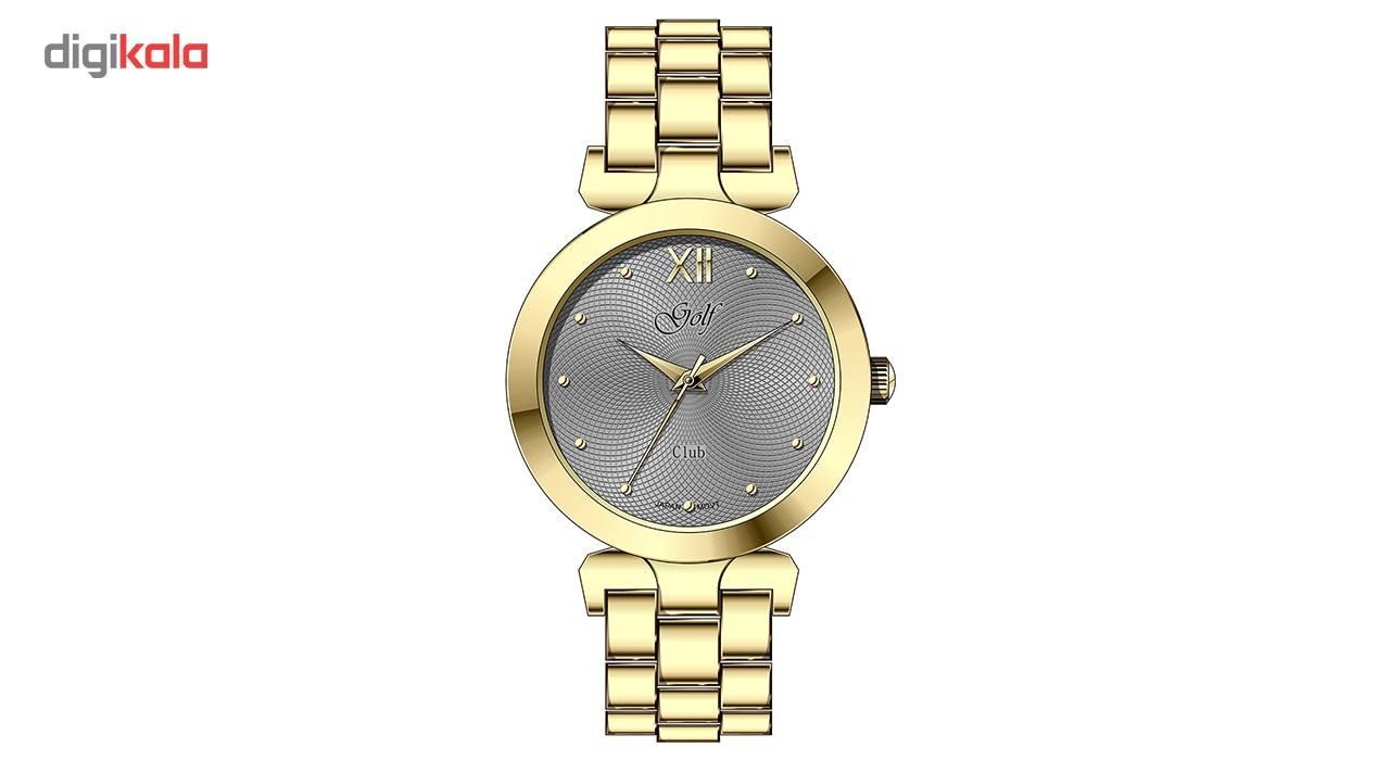 ساعت مچی عقربه ای زنانه گلف مدل L0112-3 -  - 2