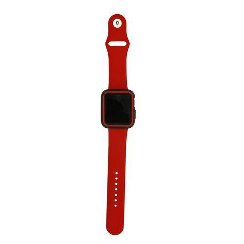 بند سومگ مدل Fashion به همراه کاور سیلیکونی مناسب برای اپل واچ 42 میلیمتری