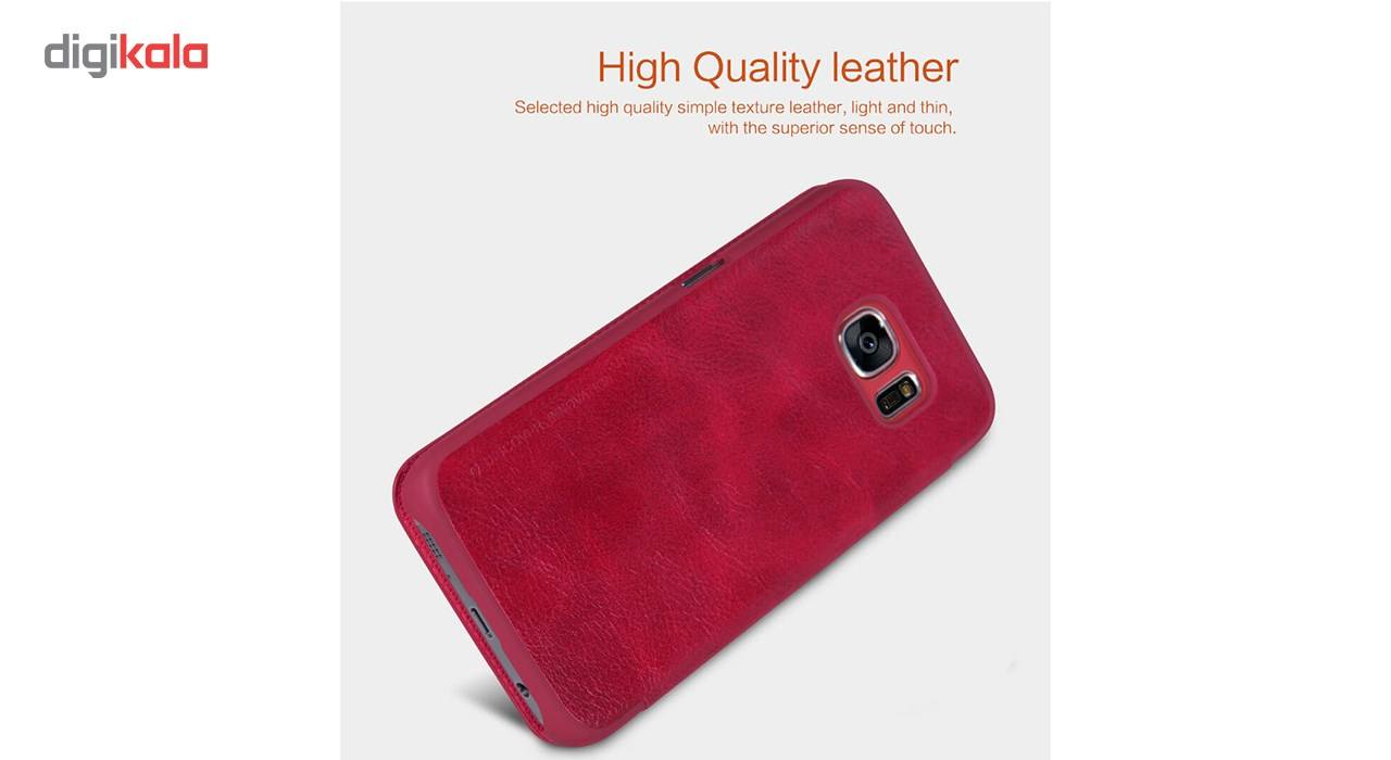 کیف کلاسوری نیلکین مدل Qin مناسب برای گوشی موبایل سامسونگ گلکسی S7 main 1 4