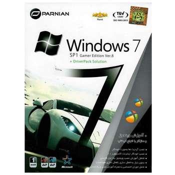 سیستم عامل Windows 7 SP1 Gamer Edition Ver.8 به همراه Driver Pack Solution نشر پرنیان