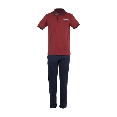 تصویر ست پلو شرت و شلوار مردانه پی جامه مدل 2242