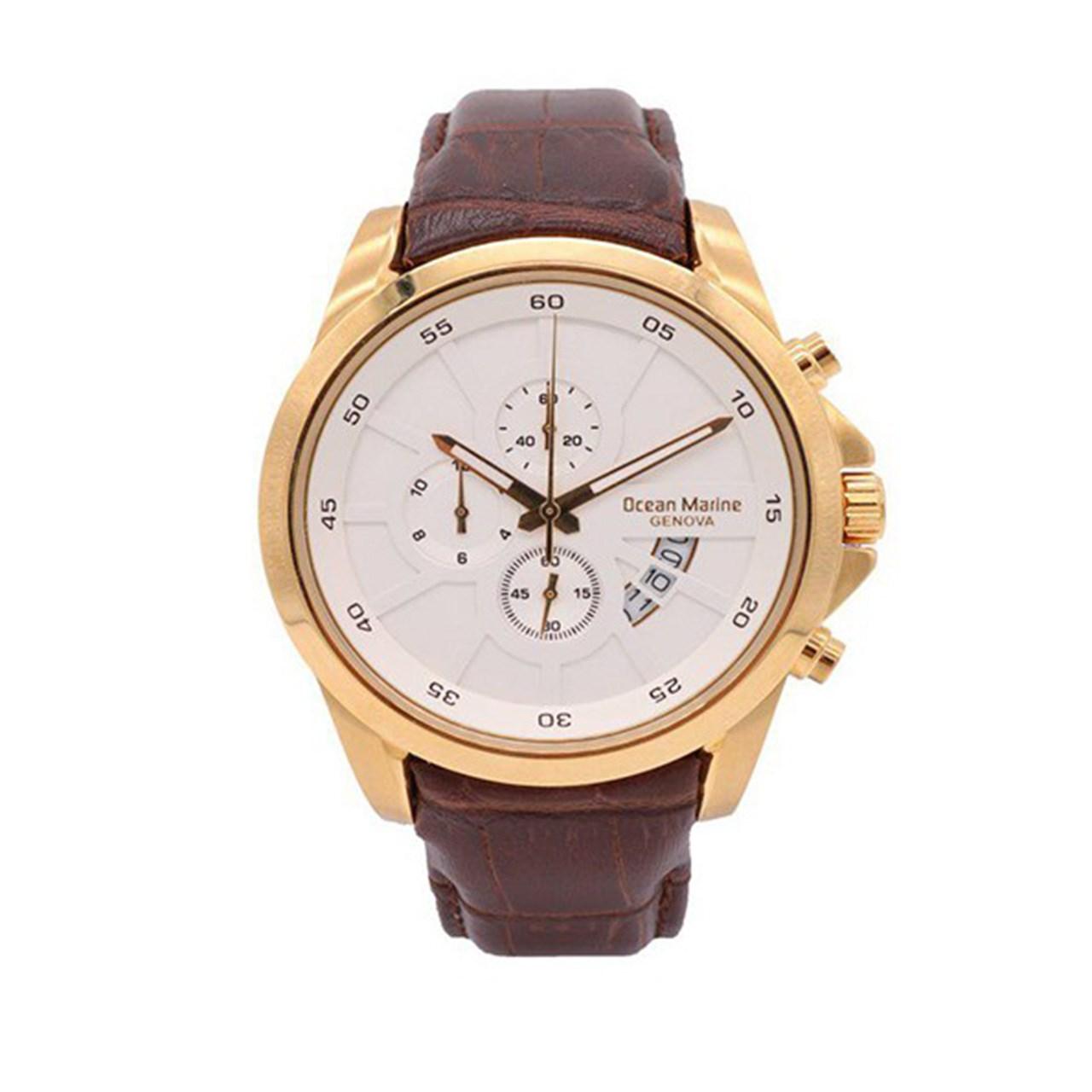 ساعت مچی عقربه ای مردانه اوشن مارین مدل OM-8103G-1