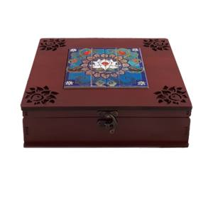 جعبه چای کیسه ای مدل نیلوفر