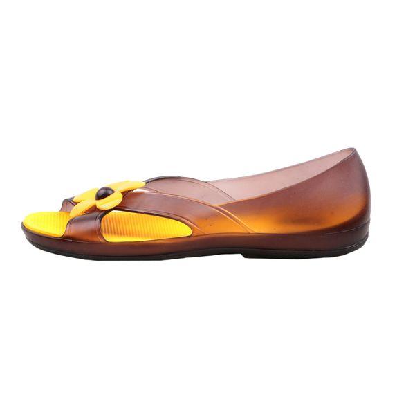 کفش ساحلی زنانه مدل گل کد A1058
