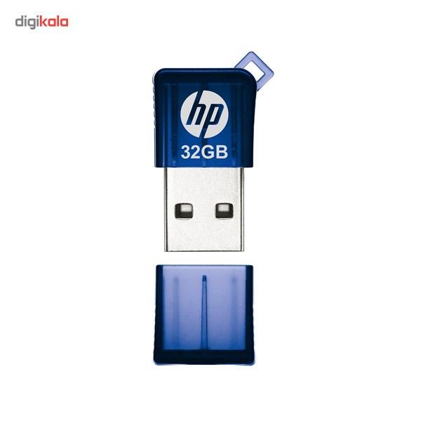 فلش مموری USB 2.0 اچ پی مدل v165w ظرفیت 32 گیگابایت