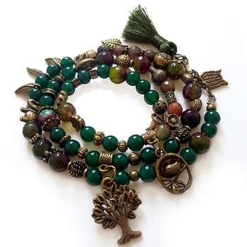 دستبند زنانه میشکا کد 0002