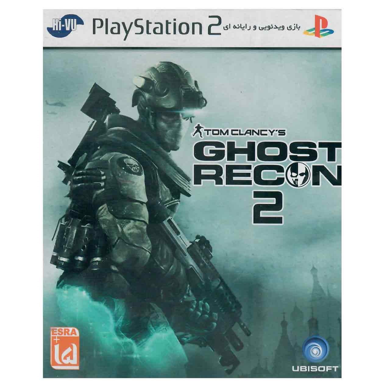 بازی Tom Clancys Ghost Recon 2 مخصوص PS2