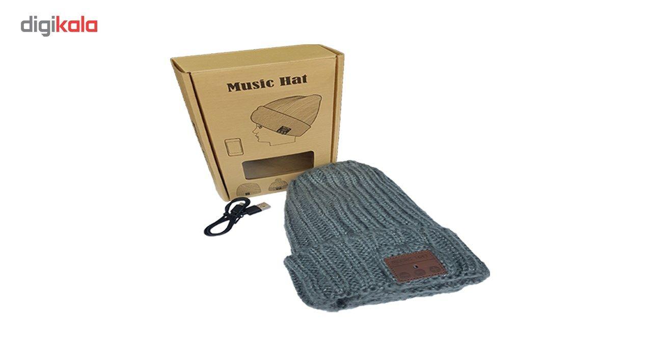 کلاه هدفون بی سیم موزیک هت مدل 2 main 1 3