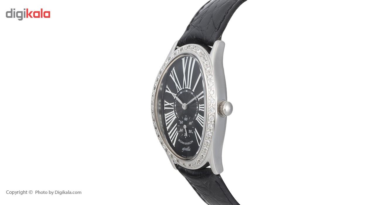 ساعت مچی عقربه ای زنانه رومانسون مدل RL8216QL1WA37W