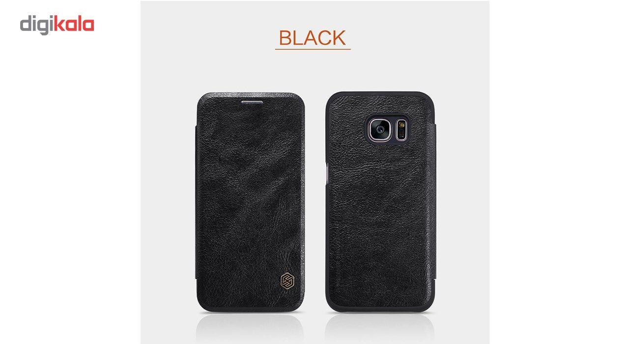 کیف کلاسوری نیلکین مدل Qin مناسب برای گوشی موبایل سامسونگ گلکسی S7 main 1 9