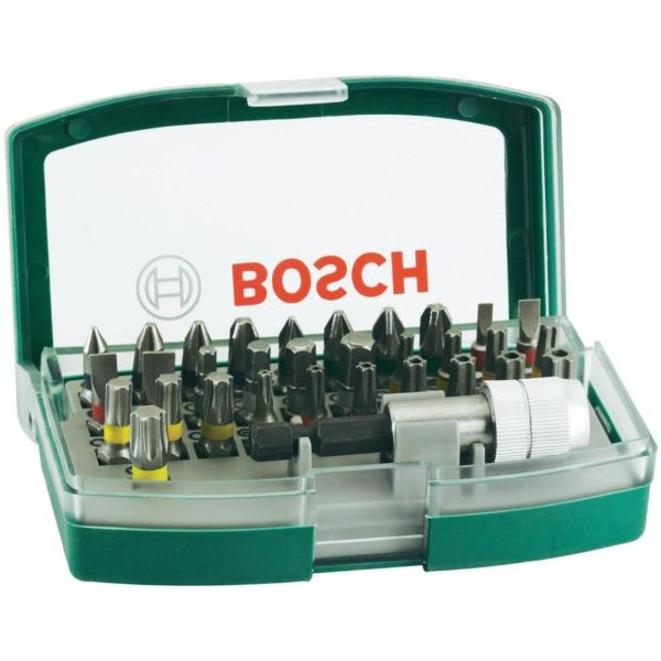 مجموعه 32 عددی پیچ گوشتی و سری پیچ گوشتی بوش مدل 2607017063