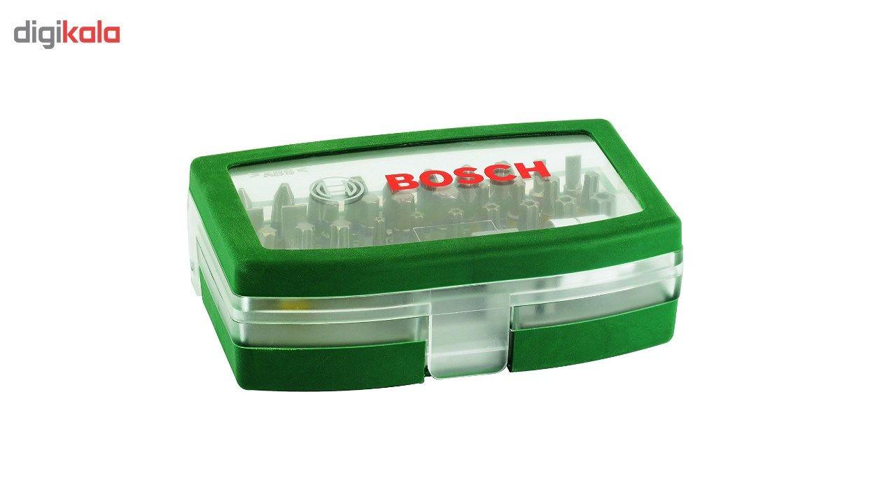 مجموعه 32 عددی پیچ گوشتی و سری پیچ گوشتی بوش مدل 2607017063 main 1 2