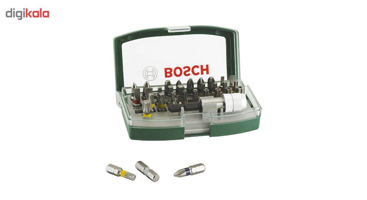 مجموعه 32 عددی پیچ گوشتی و سری پیچ گوشتی بوش مدل 2607017063 main 1 4