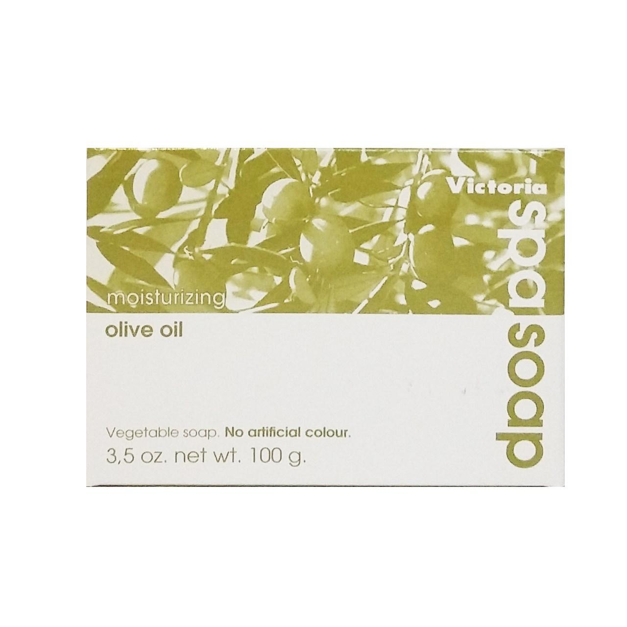 خرید                      صابون مرطوب کننده پوست بدن ویکتوریا حاوی روغن زیتون مقدار 100 گرم