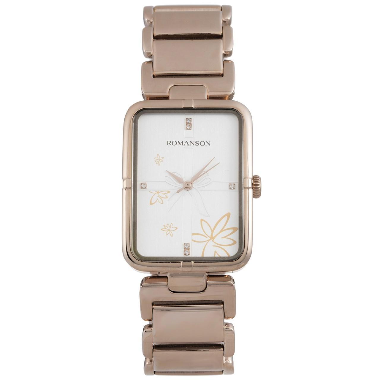 ساعت مچی عقربه ای زنانه رومانسون مدل RM0356LL1RA16R