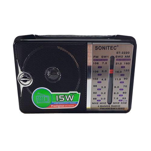 رادیو 4 باند سونیتک مدل ST-2220