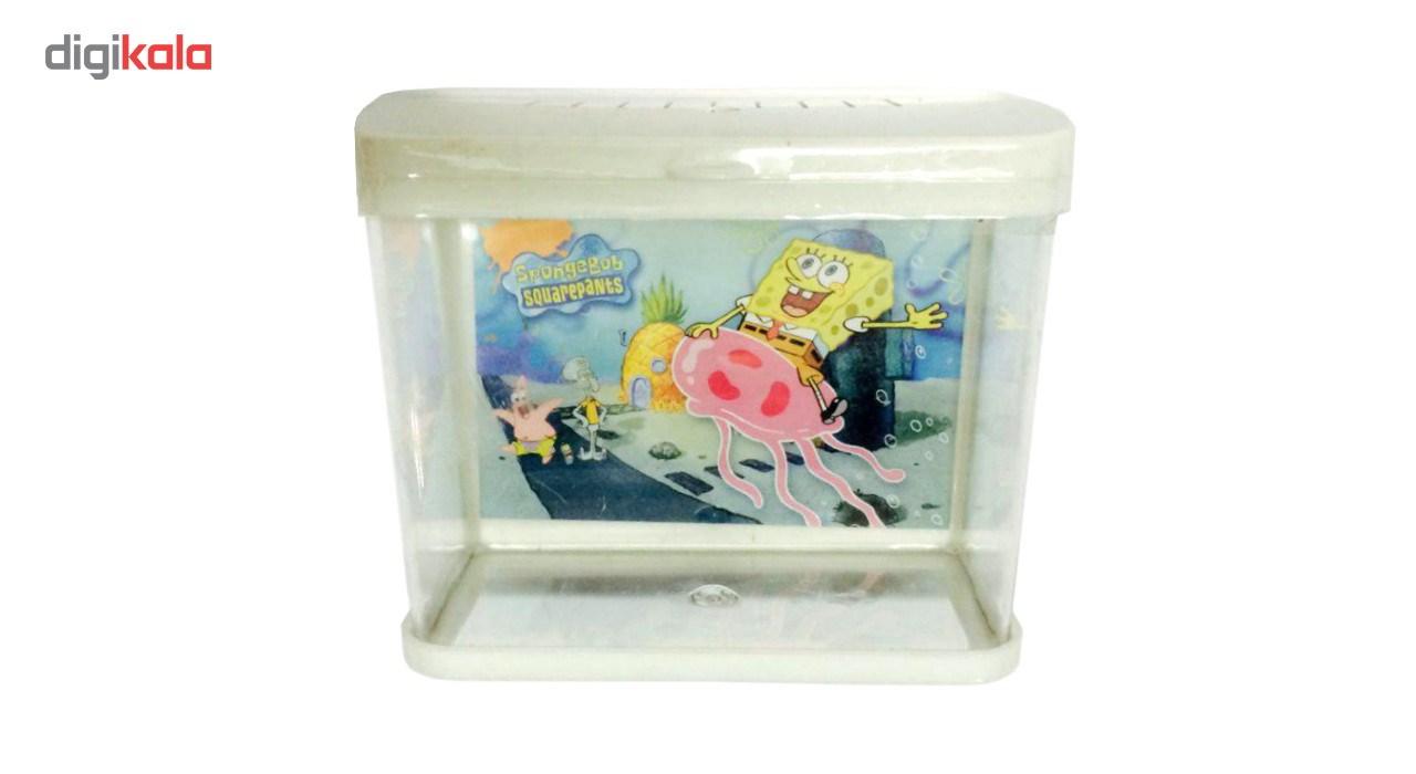 آکواریوم HA مدل SpongeBob حجم 1.5 لیتر