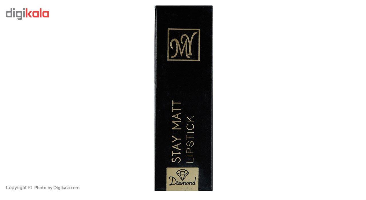 رژ لب جامد مای سری Black Diamond مدل Stay Matt شماره 23 main 1 3