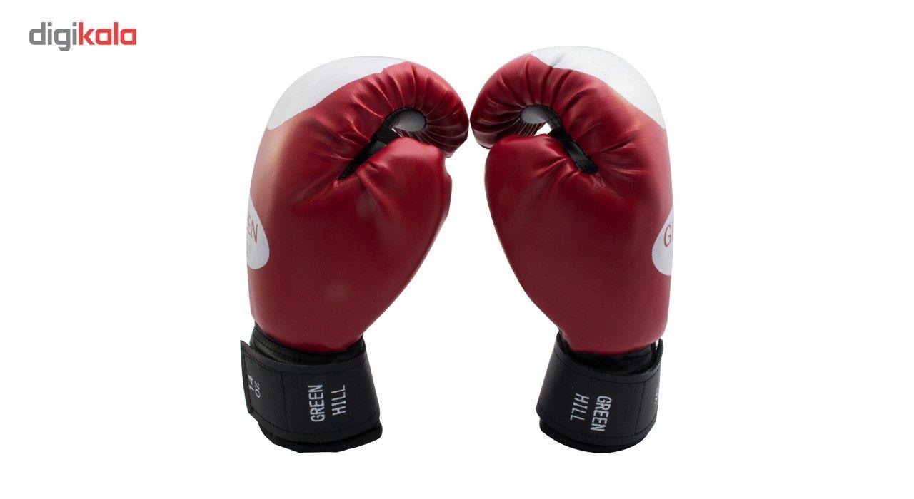 دستکش بوکس سایز 14 اونس همراه با یک گارد لثه TAMAX همراه با شوز بک main 1 1