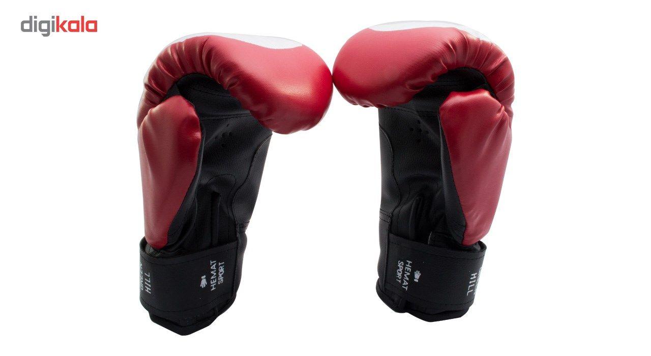 دستکش بوکس سایز 14 اونس همراه با یک گارد لثه TAMAX همراه با شوز بک main 1 2