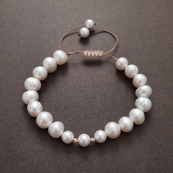 دستبند طلا 18 عیار زنانه الماسین آذر مدل Goy04