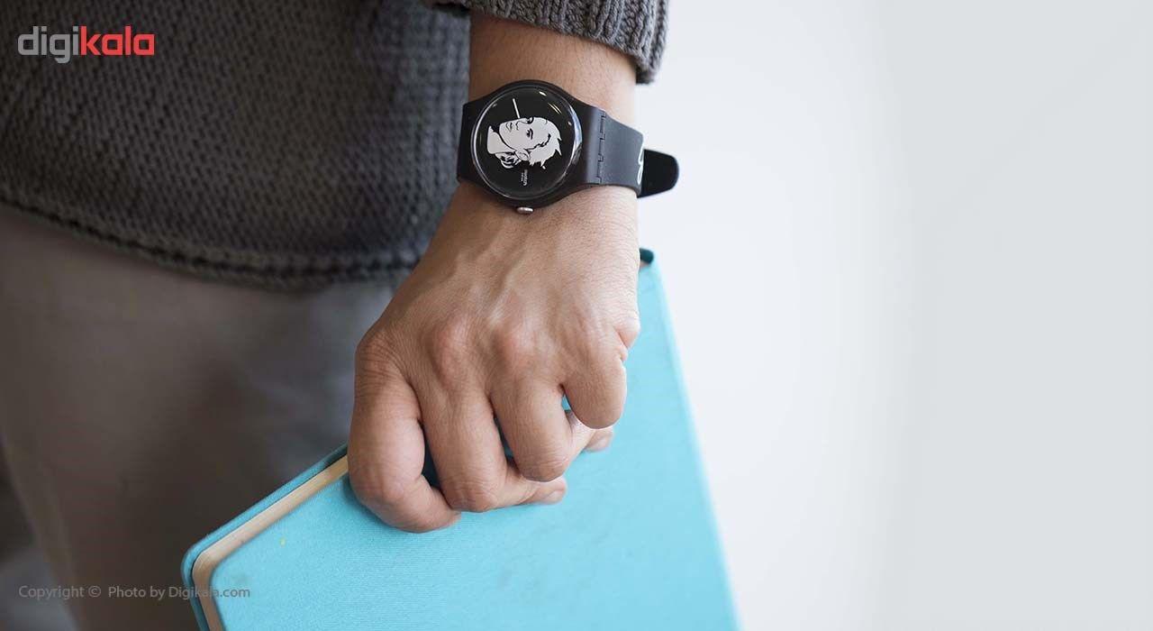 ساعت مچی عقربه ای سواچ مدل SUOZ121 -  - 10