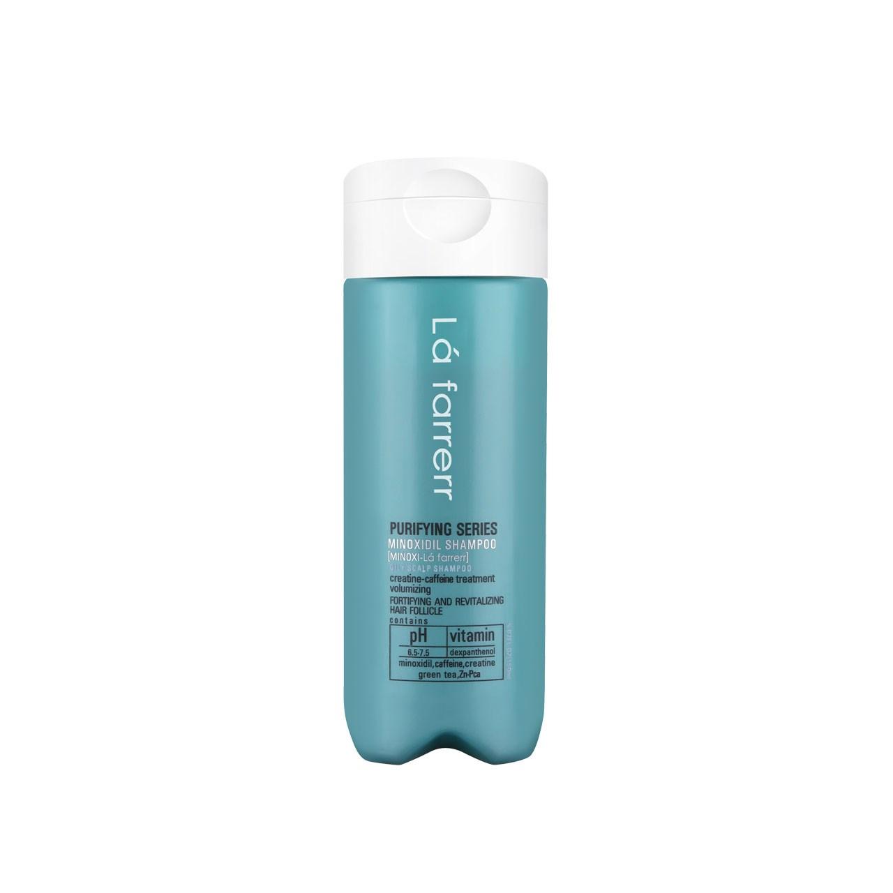 قیمت شامپو ضد ریزش ماینوکسی لافارر مدل Minoxi For Oily Hair حجم 150 میلی لیتر