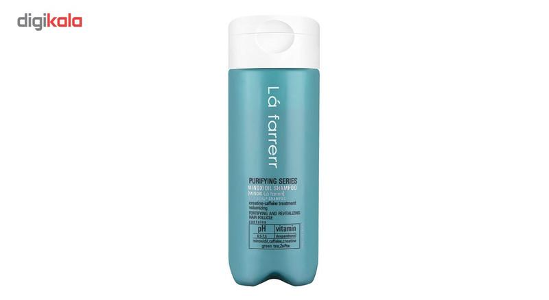 شامپو ضد ریزش ماینوکسی لافارر مدل Minoxi For Oily Hair حجم 150 میلی لیتر