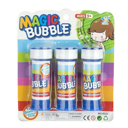 مایع حباب ساز مدل Magic Bubble بسته سه عددی