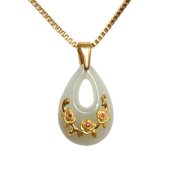 گردنبند طلا 24 عیار ماربلین طرح بهاره کد GJ2006