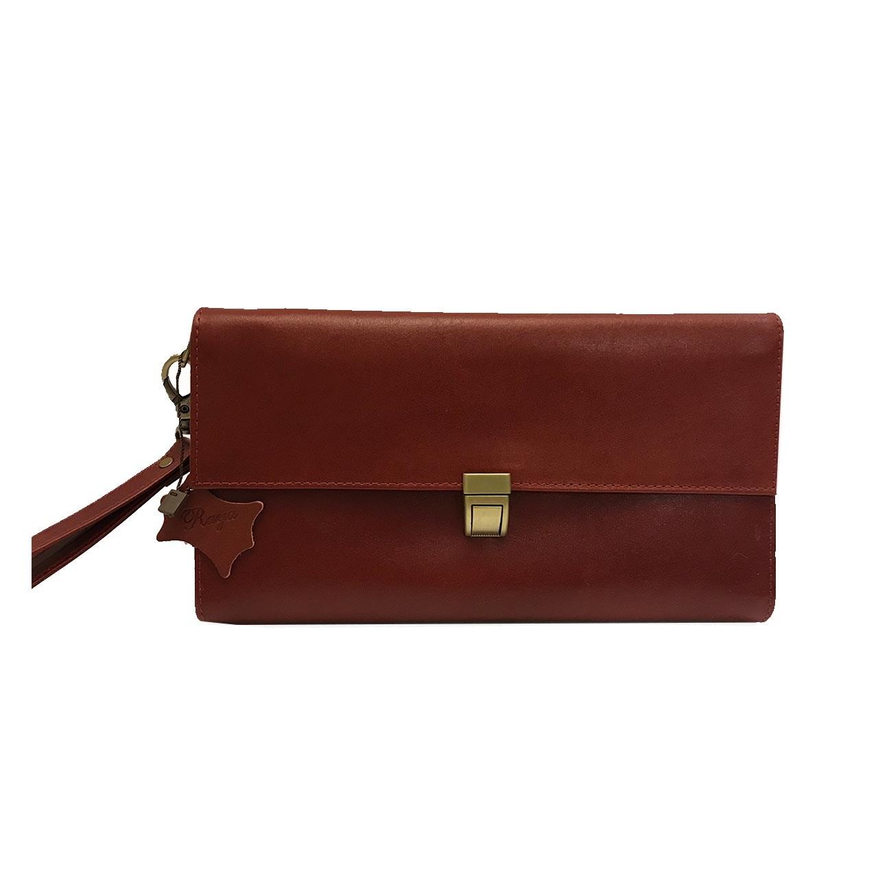کیف دستی چرم رایا مدل Tanaz