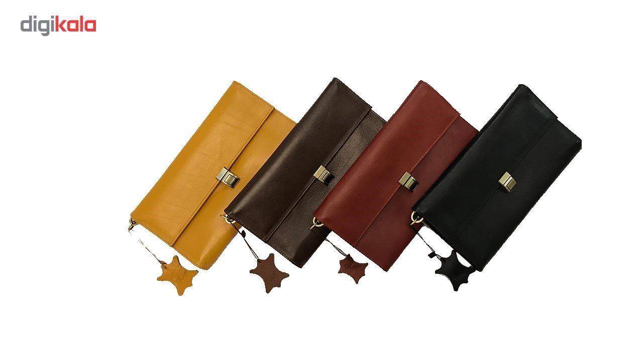 کیف دستی چرم رایا مدل Tanaz -  - 4