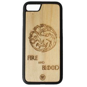کاور چوبی میزانسن مدل Targaryen مناسب برای گوشی آیفون 6sPlus/6Plus