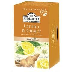 بسته دمنوش چای احمد مدل Lemon And Ginger Infusion