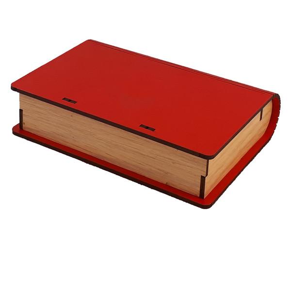 جعبه چای کیسه ای عشقی مدل کتابی