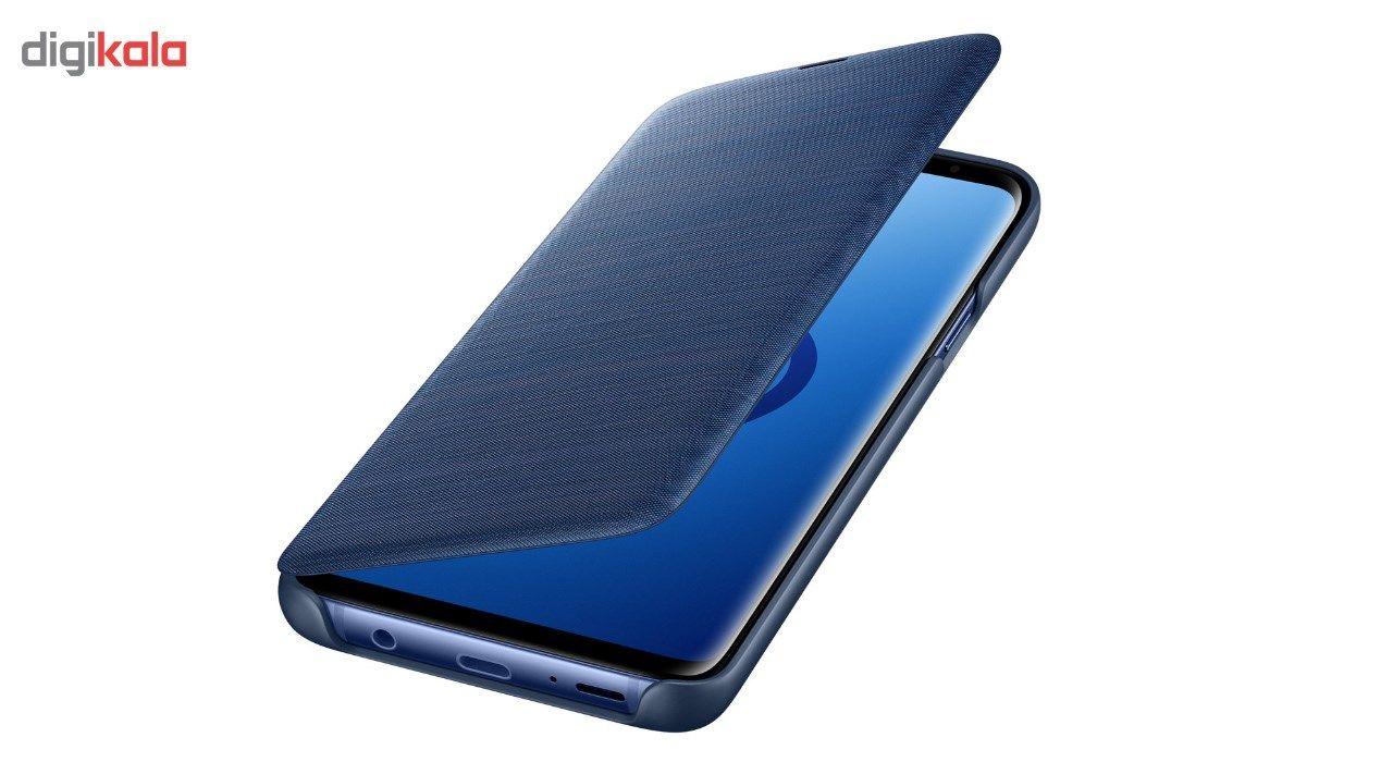 کیف کلاسوری سامسونگ مدل LED View مناسب برای گوشی موبایل سامسونگ Galaxy S9 Plus main 1 3