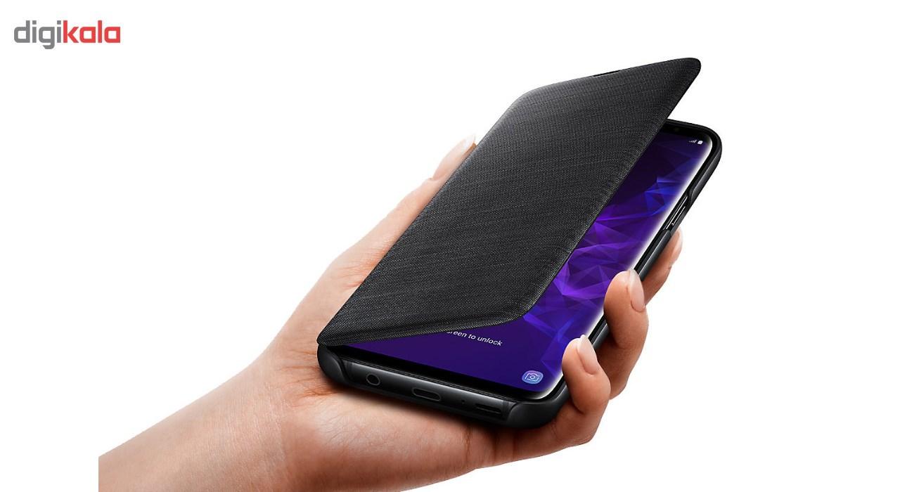 کیف کلاسوری سامسونگ مدل LED View مناسب برای گوشی موبایل سامسونگ Galaxy S9 Plus main 1 6