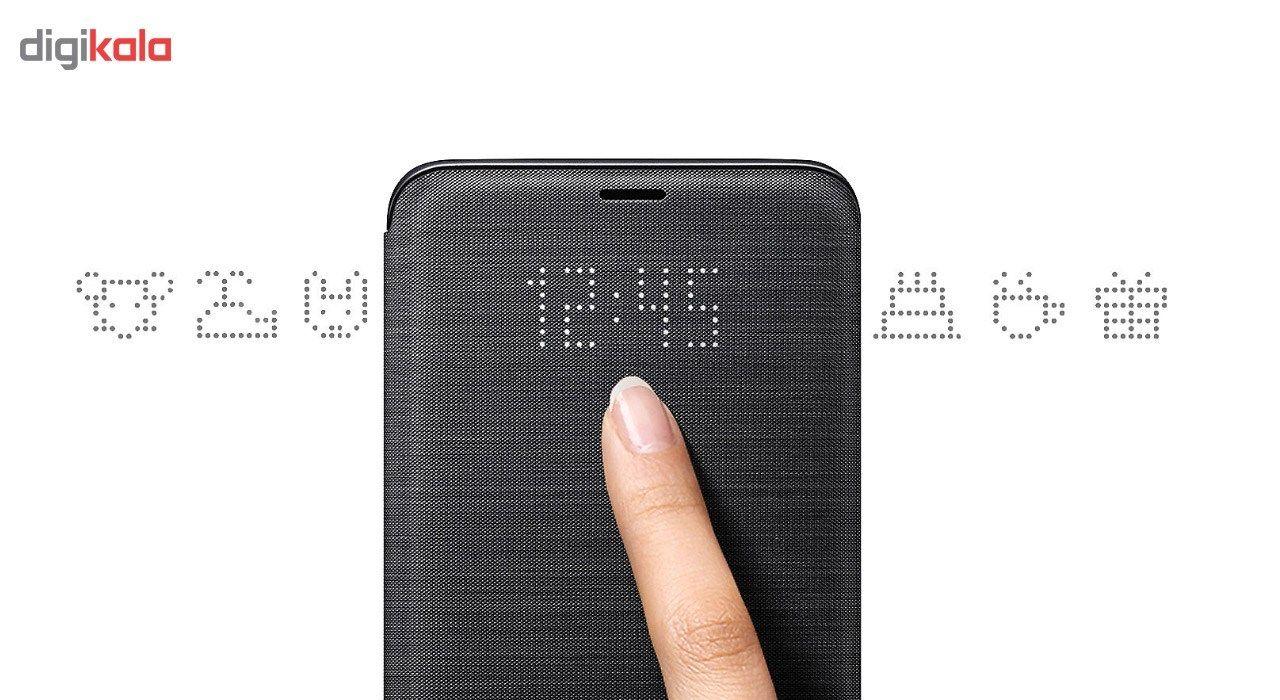 کیف کلاسوری سامسونگ مدل LED View مناسب برای گوشی موبایل سامسونگ Galaxy S9 Plus main 1 7