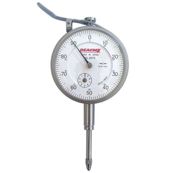 ساعت اندیکاتور پیکاک کد207SF-LL  گستره20-0 میلیمتر