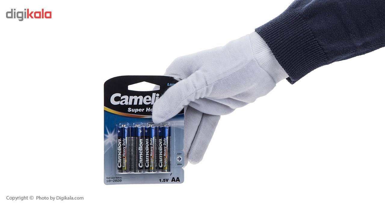 باتری قلمی کملیون مدل Super Heavy Duty بسته 4 عددی main 1 2
