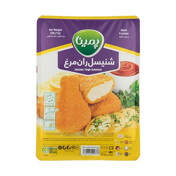 شنیسل ران مرغ پمینا - 420 گرم