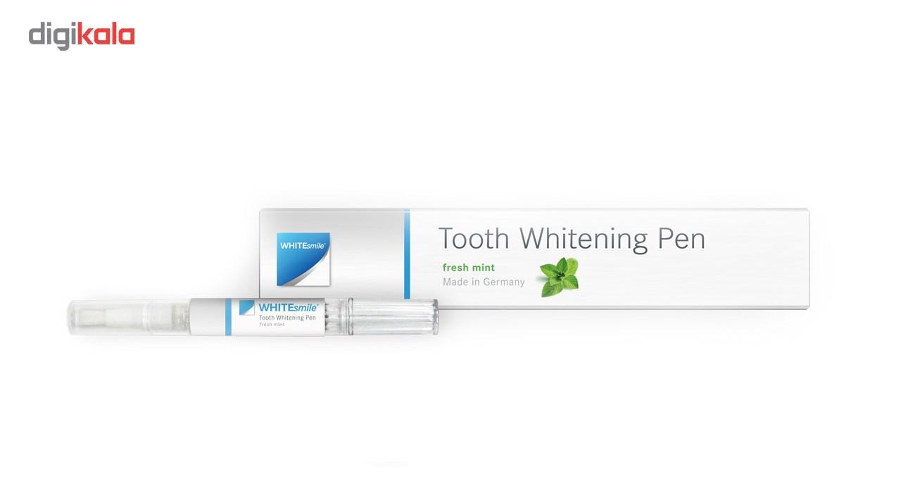 پک سفید کننده دندان وایت اسمایل مدل نعنایی