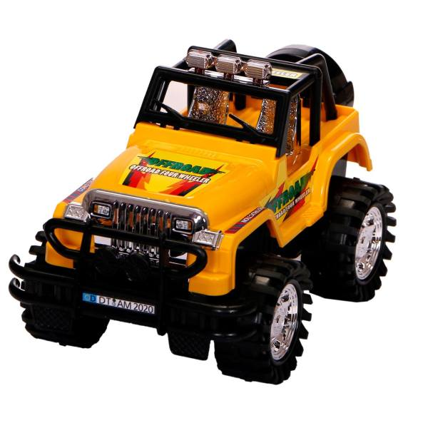 ماشین بازی درج مدل Jeep طرح OFFROAD