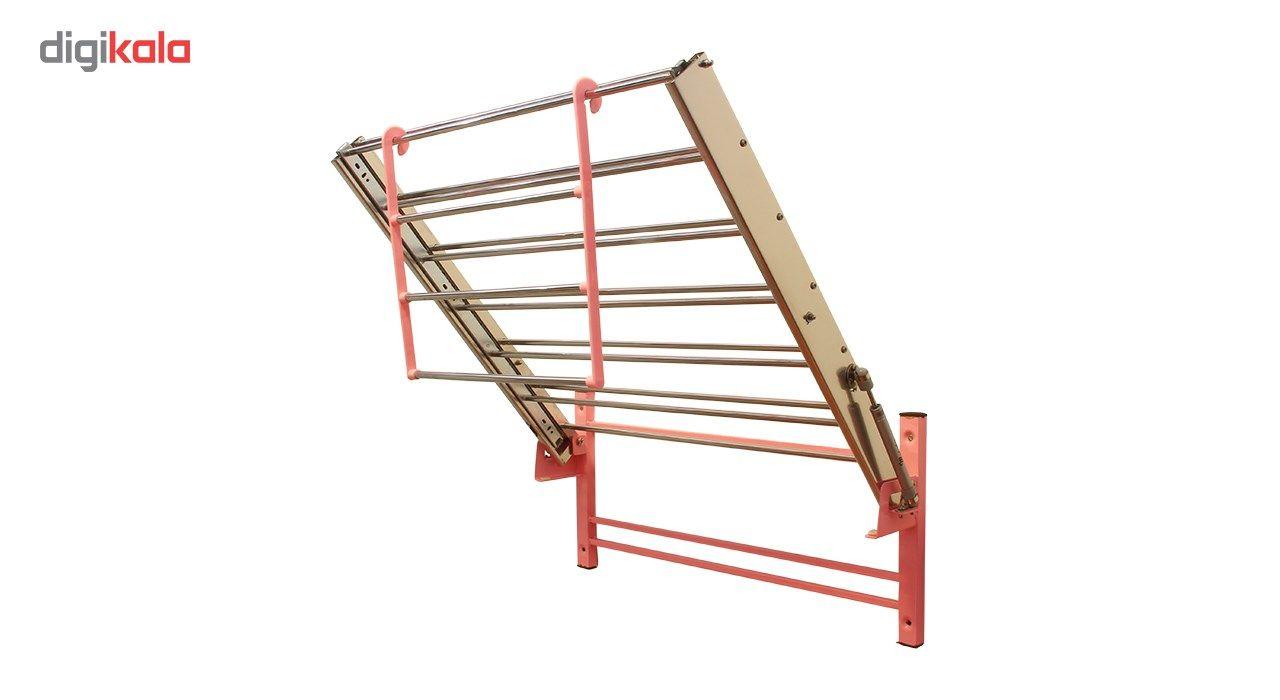 بند رخت دیواری سارینا مدل ریلی تاشو main 1 8
