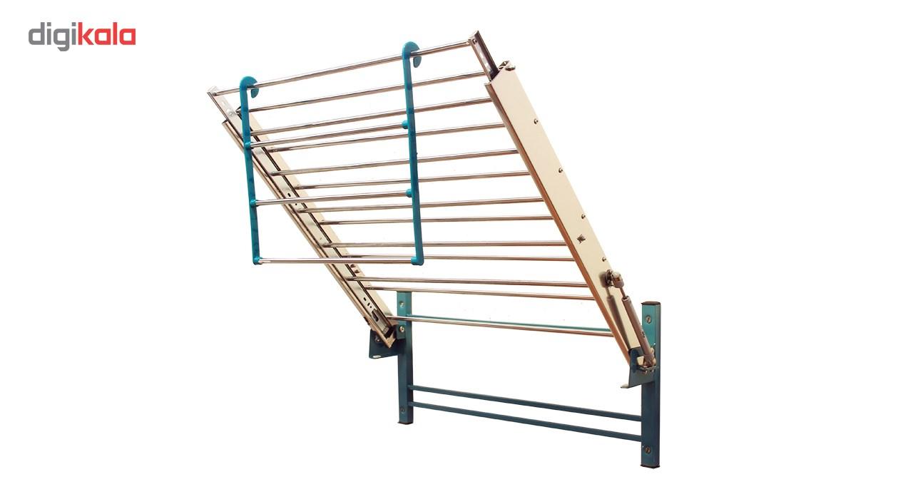 بند رخت دیواری سارینا مدل ریلی تاشو main 1 9
