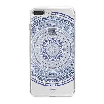 کاور  ژله ای مدلBlue mandala  مناسب برای گوشی موبایل آیفون 7 پلاس و 8 پلاس