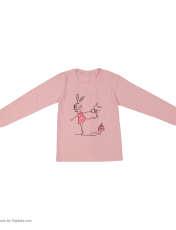 تی شرت دخترانه سون پون مدل 1391357-84 -  - 2